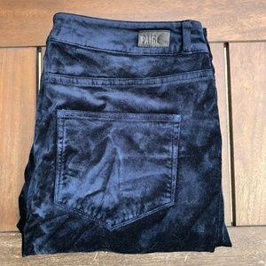 Paige Verdugo Velvet Ultra Skinny Jeans / Pants